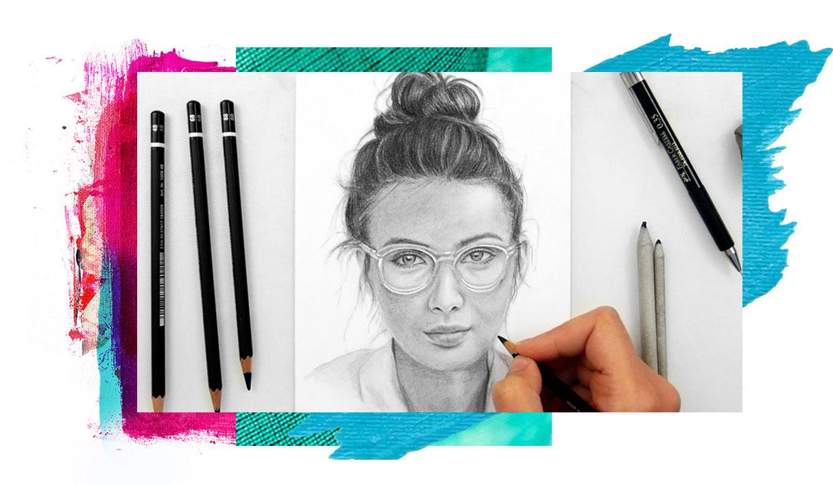 نقاشی عینک