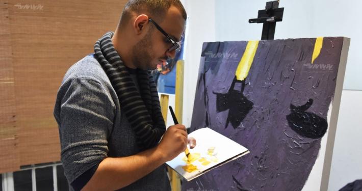 کلاس آموزش نقاشی میکس مدیا