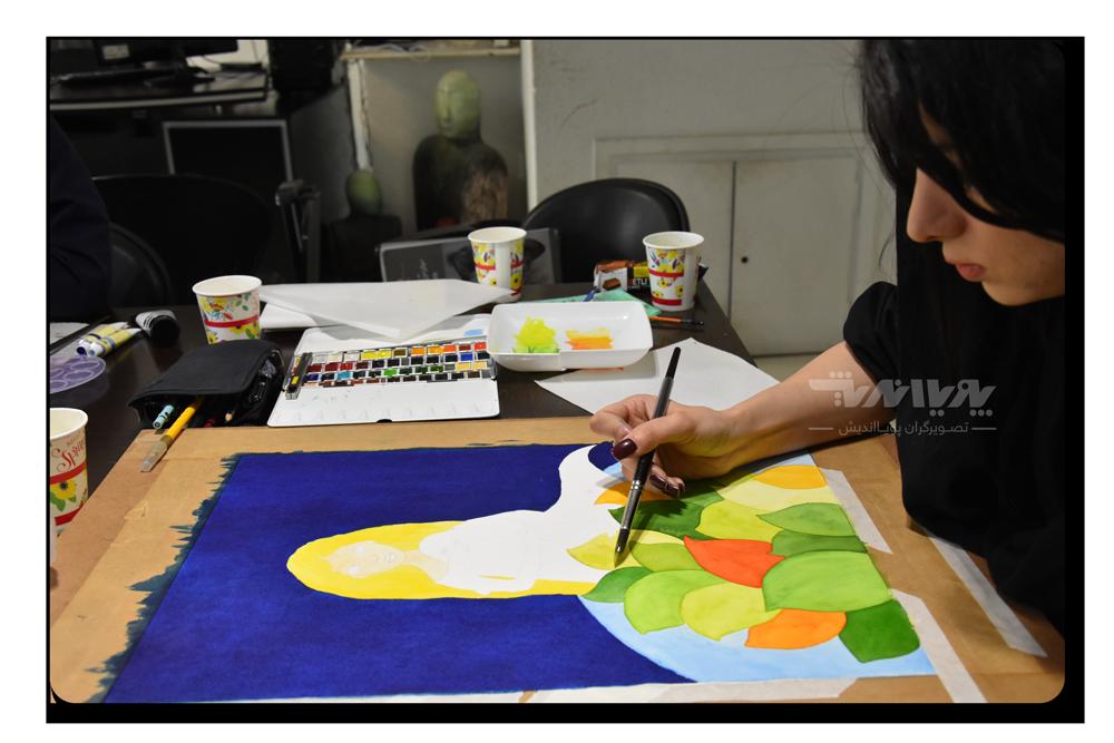دوره های آموزش نقاشی آبرنگ