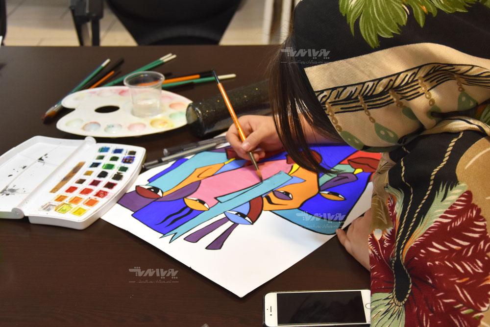 کلاس های آموزش نقاشی آبرنگ