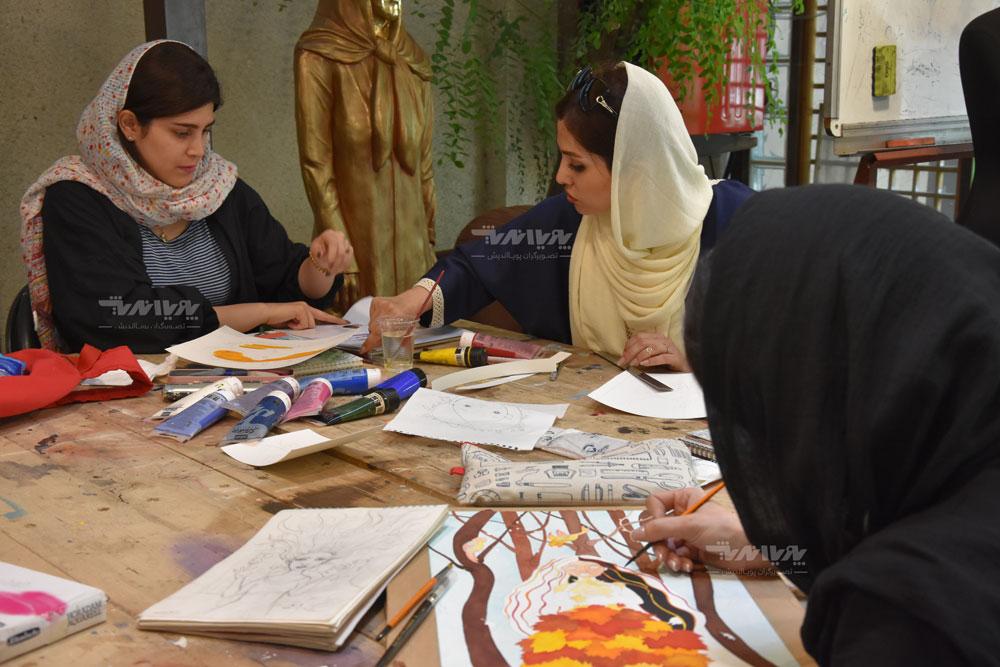 کلاس آموزش نقاشی آبرنگ