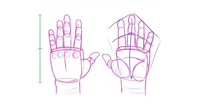 طراحی دست 3d