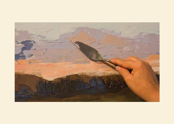 آموزش استفاده از کاردک نقاشی