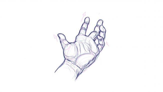 جزییات طراحی دست