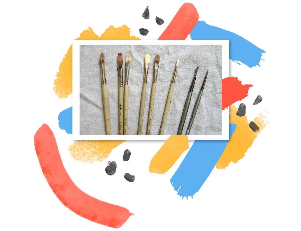 قلم مو نقاشی