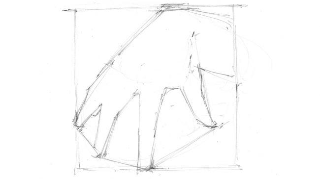 مراحل طراحی دست