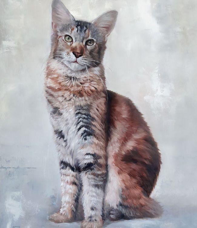 نقاشی حیوانات پرتره