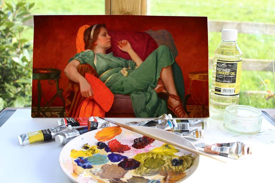 رنگ در آثار نقاشان قرن 19