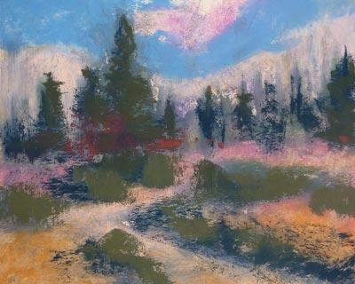 نقاشی با پاستل