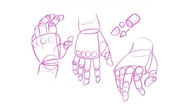 آموزش مجانی طراحی دست