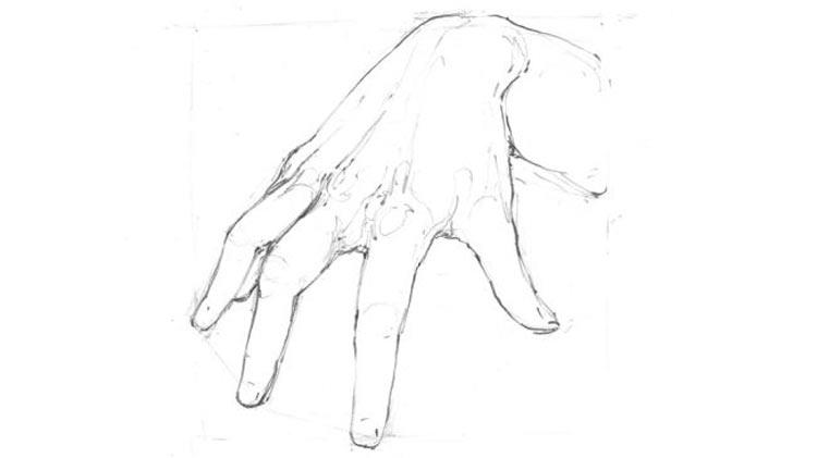 آموزش طراحی دست