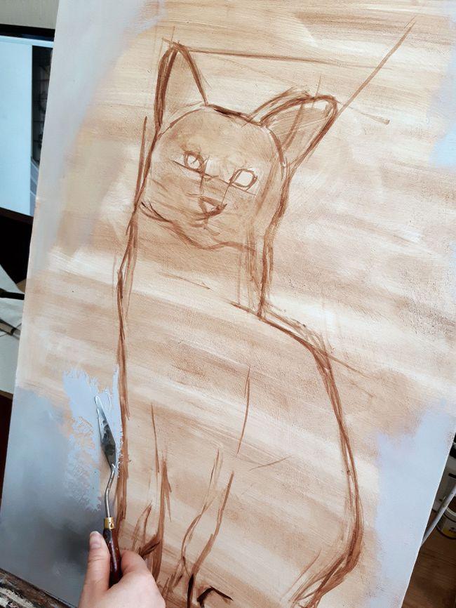 رنگ آمیزی نقاشی حیوانات