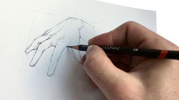 طراحی دست