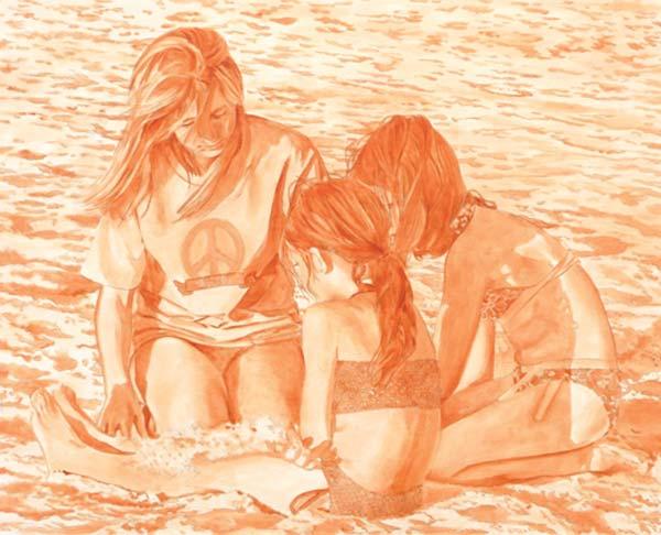 نقاشی مدادرنگی