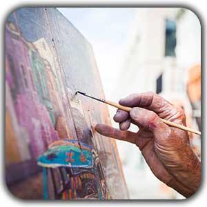 شروع نقاشی