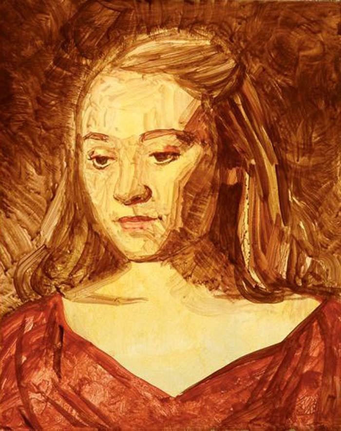 نقاشی پرتره با رنگ روغن