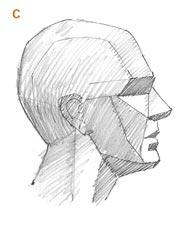 طراحی سر انسان