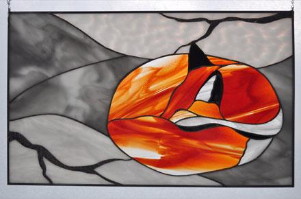 آموزش نقاشی روی شیشه یا ویترای