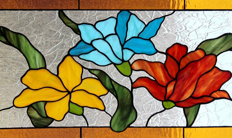 نمونه آموزش نقاشی روی شیشه