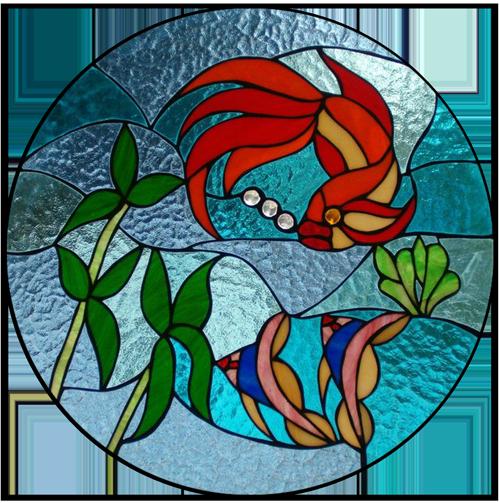 تصویر آموزش نقاشی روی شیشه