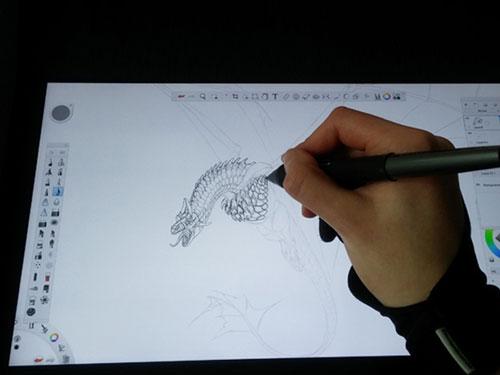 کلاس های آموزش نقاشی دیجیتال