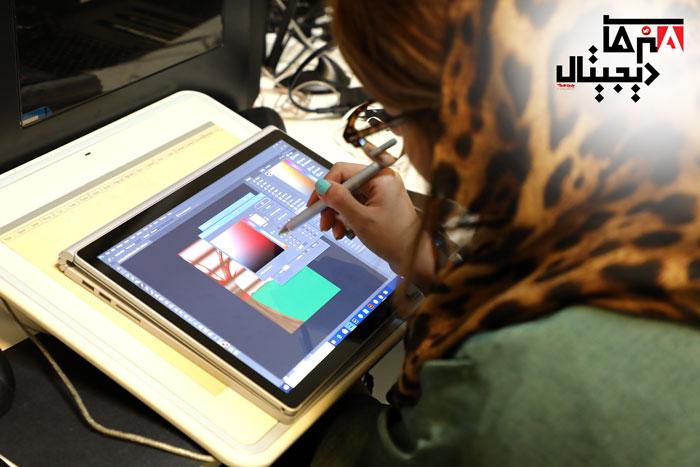 آموزش نقاشی دیجیتال