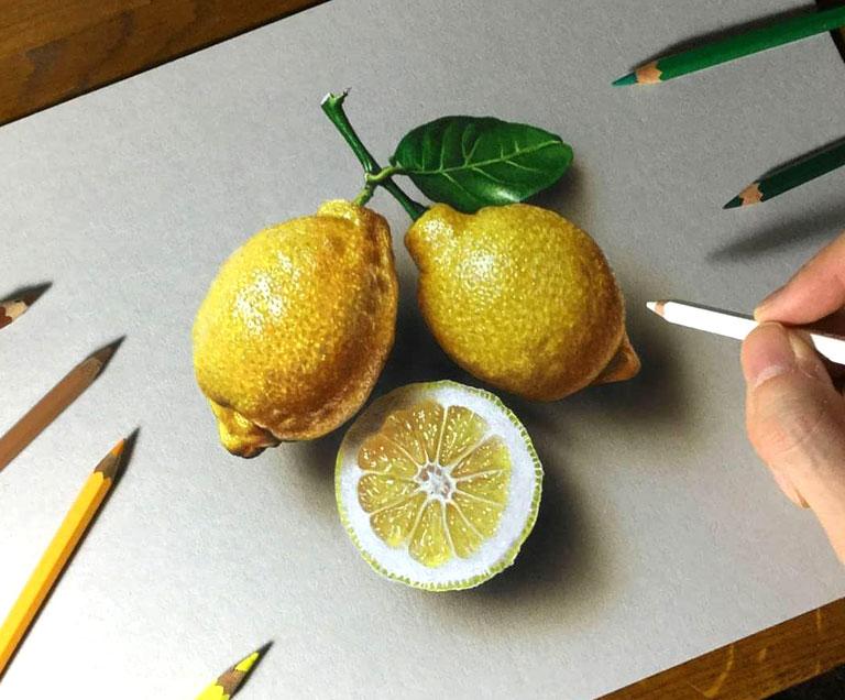 دوره نقاشی سه بعدی