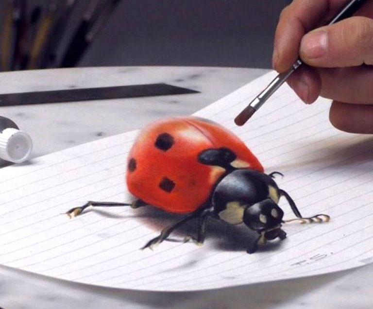 آموزشگاه آموزش نقاشی سه بعدی
