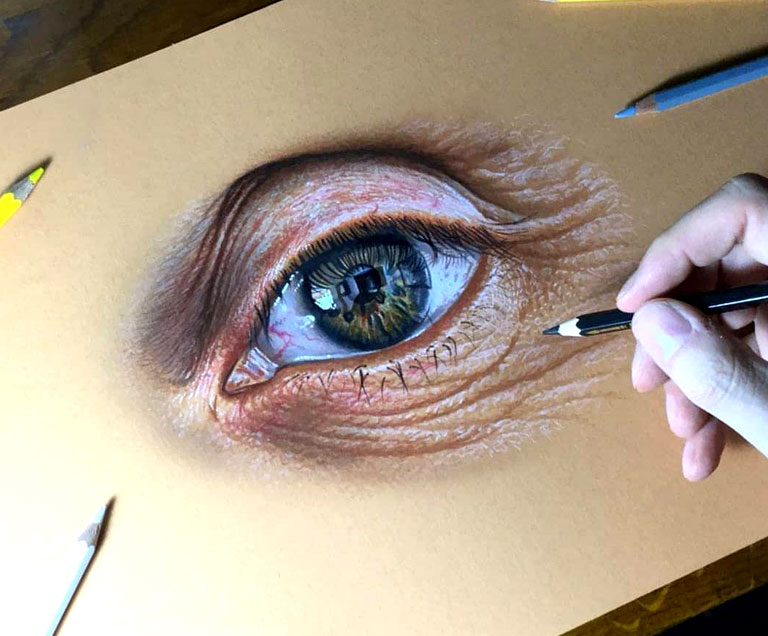 کلاس نقاشی سه بعدی